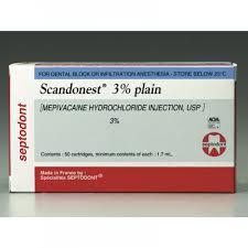 SCANDONEST 3% (SEPTODONT)