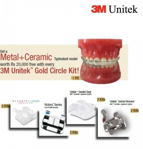 3M Unitek Gold Circle Kit