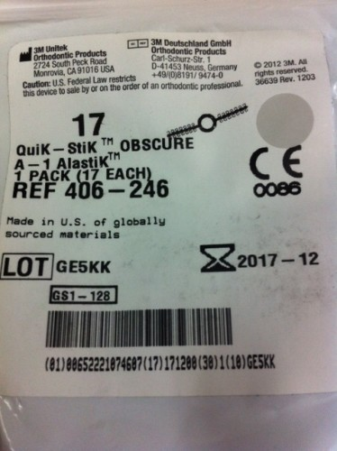 Quik-Stik Modules - A1 Obscure 1 pack