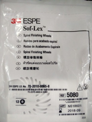 3M ESPE SOFLEX SPIRAL FINISHING WHEELS