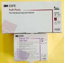 3M ESPE Soft Putty and EXPRESS XT LIGHT BODY