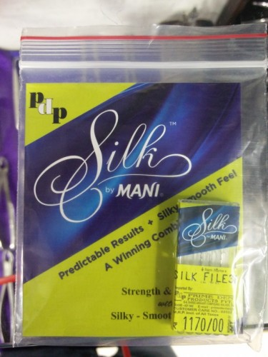 Mani Silk Rotary file