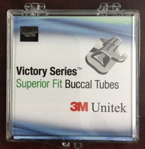 First Molar Tube Bondable MBT 022 - Superior Fit -5 SETS