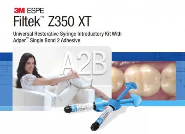 Filtek™ Z350XT Nano Composite 4- Syringe Kit (3M ESPE)