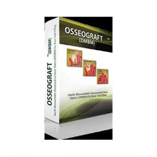 OSSEOGRAFT DMBM (DE MINERALIZED BONE MATRIX) - 2X0.25 G