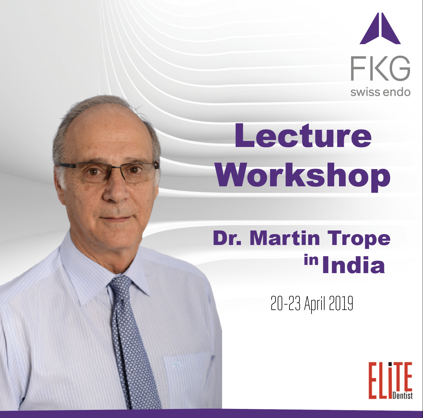 Dr. Martin Trope Lecture and Lunch Workshop