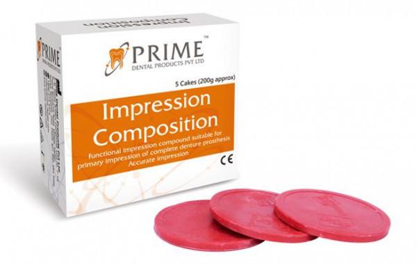 PRIME DENTAL IMPRESSION COMPOSITION CAKES - 200GM