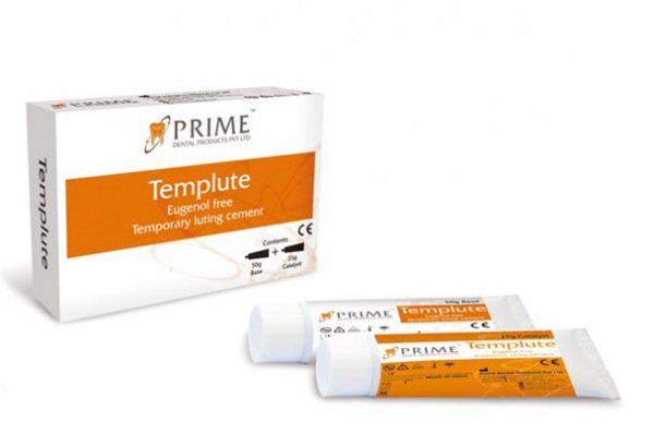 PRIME DENTAL TEMPLUTE - EUGENOL FREE TEMP LUTING CEMENT