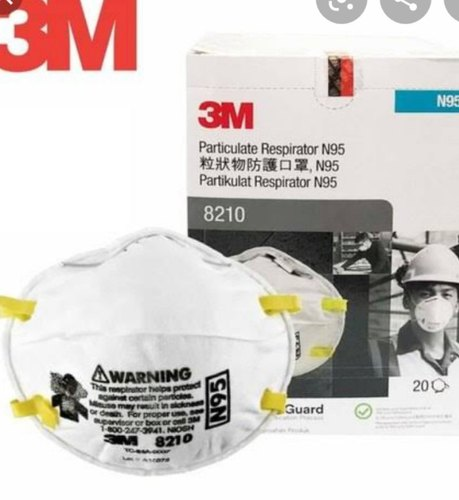 3M Particulate Respirator N95 Mask 8210